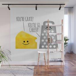 Cheesy Couple Wall Mural