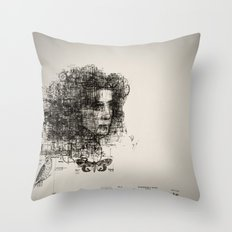 involuntary dilation of the iris Throw Pillow