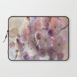 Vintage Beauty, Flower Blossoms Laptop Sleeve