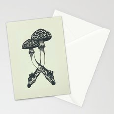 Mushrooms & Giraffe Stationery Cards