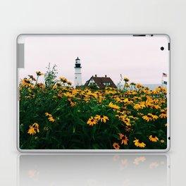 Portland Headlight and Flowers Laptop & iPad Skin