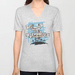 Always look on the bright side of life Unisex V-Neck