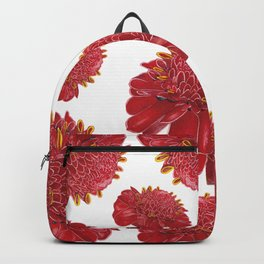 Floral Theme- Ginger Lily Watercolor Illustration Backpack