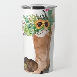 Southwestern Sunflower Travel Mug
