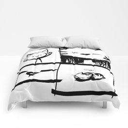 minima - IA - catnap Comforters