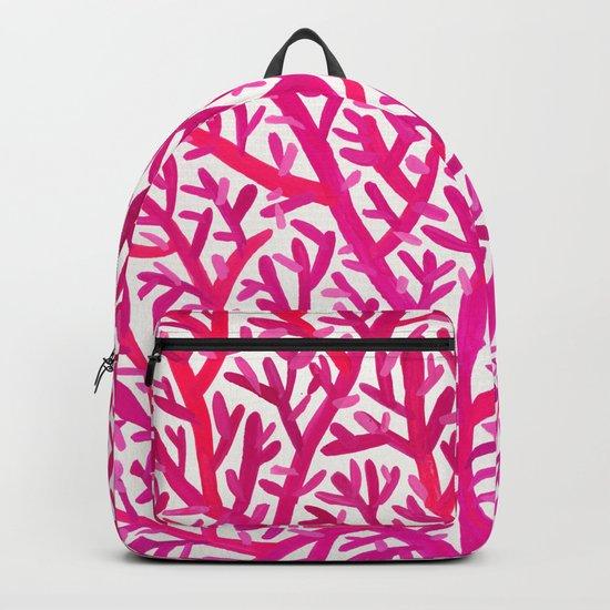 Fan Coral – Pink Ombré Backpack