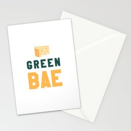 Green Bae   GB Packers Stationery Cards