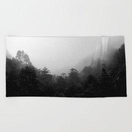 Big Sur Fog Beach Towel