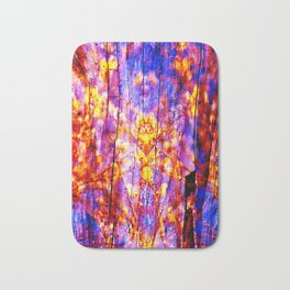Ultra Violet Symphony of Spring Bath Mat
