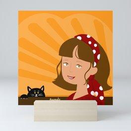 Gypsy Girl Mini Art Print