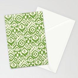 lezat green Stationery Cards