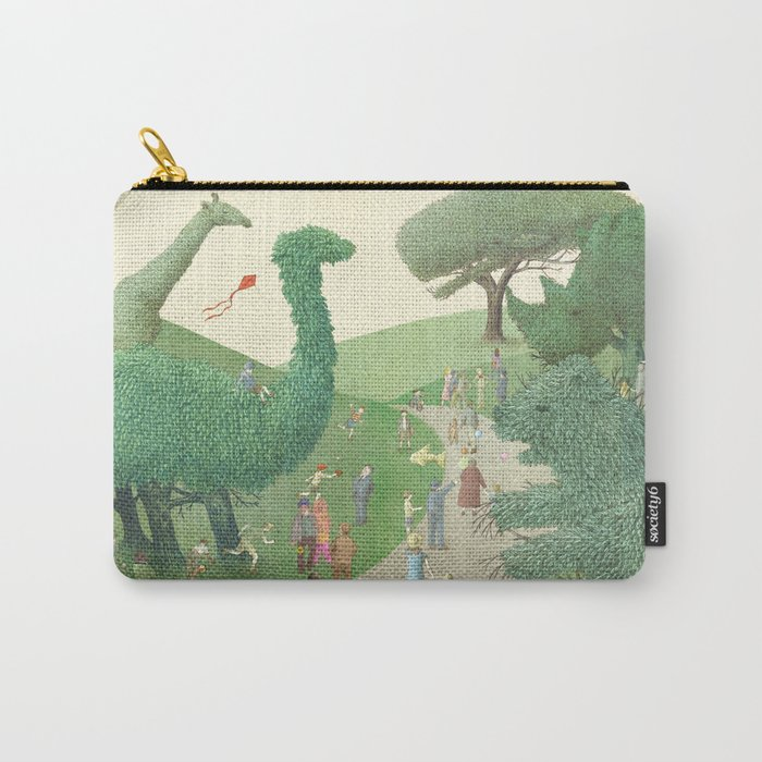 The Night Gardener - Summer Park Carry-All Pouch