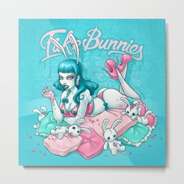 Fake Bunnies Metal Print