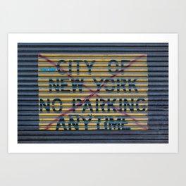 City of New York Art Print