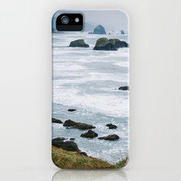 Haystack Rock from Ecola 1 iPhone Case