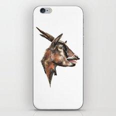 Salivating Goat iPhone Skin