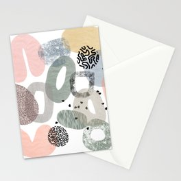 Abstract Wonderland Stationery Cards