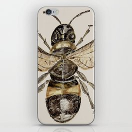 The Elizabethan Bee iPhone Skin