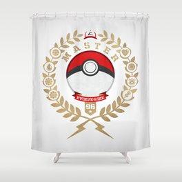 PokéMaster Shower Curtain