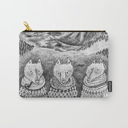 Icelandic foxes Carry-All Pouch