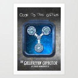 The Gallifreyan Capacitor Art Print