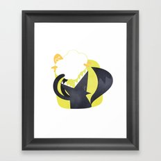 The Wolf and the Lamb Framed Art Print