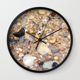 Virginia - Find the Fossil Shark Tooth Wall Clock