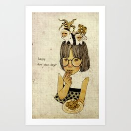 Happy April 1 st! Art Print