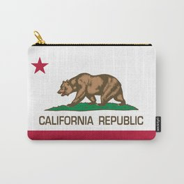 California flag, High Quality Authentic Carry-All Pouch