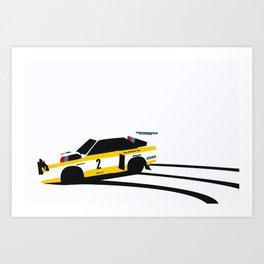 Quattro Slide Art Print