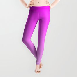 Pink Ombre flames Leggings