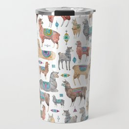 Llamas and Alpacas Travel Mug