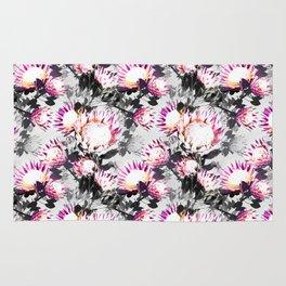 Floral pattern protea Rug