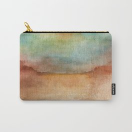SUNSET FADE Carry-All Pouch
