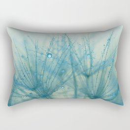 dandelion blue IX Rectangular Pillow