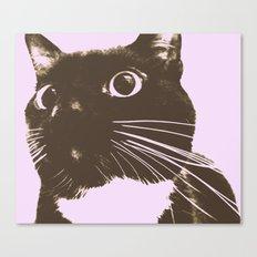 The Cat Possessed Canvas Print