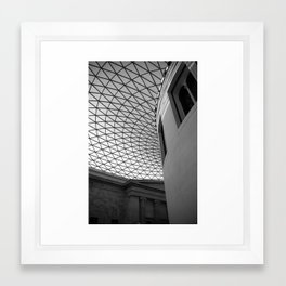 British Museum Roof Framed Art Print