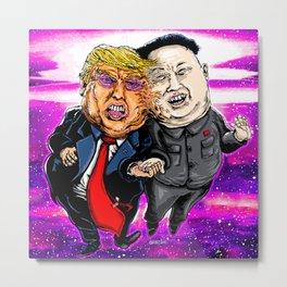 Don and Kim Metal Print