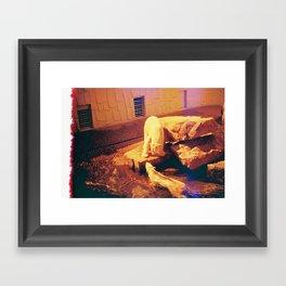 Polar Burn Framed Art Print