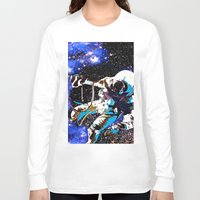 astronaut Long Sleeve T-shirts featuring Astronaut  by Saundra Myles