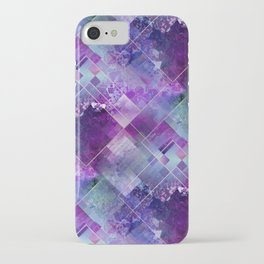 Marbleized Amethyst iPhone Case