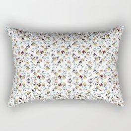 Totoro&SootSprites Rectangular Pillow