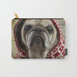 Mr. Buttons, Professional Pug Carry-All Pouch