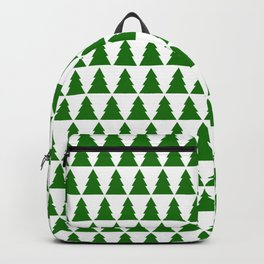 Minimal Christmas Tree Backpack