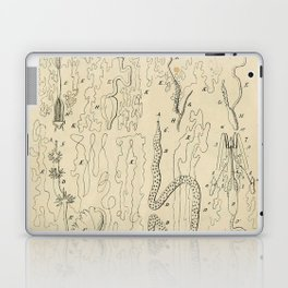 Microscopic Biology Laptop & iPad Skin