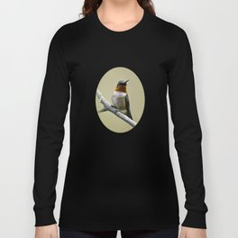 Hummingbird Portrait Long Sleeve T-shirt