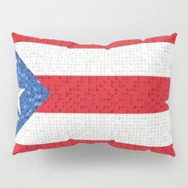 Puerto Rico Flag Pillow Sham