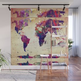 map painting  Wall Mural