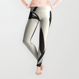 Abstract Minimal Art / Face 5a Leggings