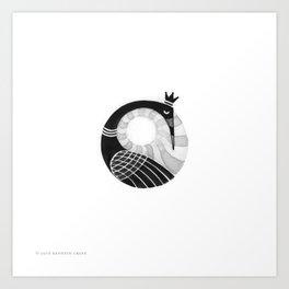 2016 Inktober #17 Art Print